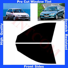 Pre Cut Window Tint Mazda 323 Hatchback 5 Doors 1999- 2003 Front Sides Any Shade