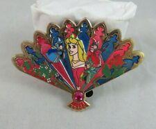 Disney WDI Pin - Floral Fan Series - Aurora - Sleeping Beauty