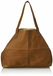 Piel Leather Large Open Multi-Purpose Tote Saddle One Size