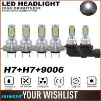 4PCS M3 Series 9005 9006 LED Headlight High//Low Beam Bulbs ZES Fog Light Lamps