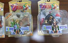 Legend Of Zelda Toy Biz Video Game Super Stars FULL SET OF 3 *NEW SEALED*