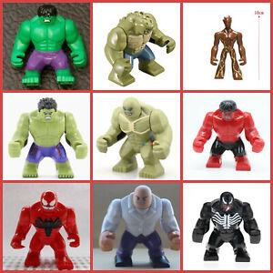Super Hero Incredible Hulk Venom Batman Spiderman Iron Man Toys Action Figures