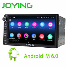 "Joying Double 2Din 7"" Android 6.0 Car Radio Stereo Quad Core SD GPS Navigation"