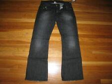 BNWT Men's Jeans True Religion Billy Straight Rainbow 72 easy rider black 32 33