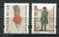 36029) Poland 1995 MNH World Post Day 2v. Scott #3262/63