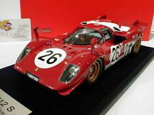 Look Smart LS18 08C - Ferrari 512 S No.26 24h Daytona 1970 Vaccarella 1:18