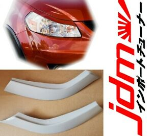 For Suzuki SX4 Eyebrows Eyelids Headlight Cover Eye Line 2006-2012 Set