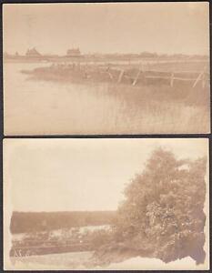 Southampton & East Hampton, Long Island, New York (4) Real Photo Postcards