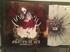 GRAVES AT SEA DOCUMENTS OF GRIEF~NM 08 WHITE BLACK RED SPLATTER LP~250 ONLY~DOOM