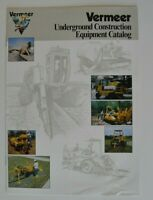 VERMEER Underground Construction Equipment 1993 dealer brochure - English - USA