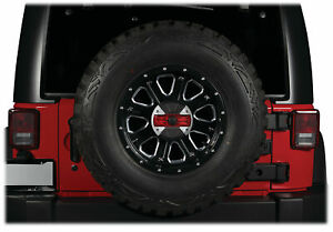 ALPINE HCE-TCAM1-WRA Spare Tire Rear Camera+Lights for 2007-Up Jeep Wrangler JK