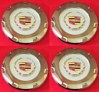 "4pcs. 2007-2014 CADILLAC ESCALADE COLORED CREST 22"" WHEEL CENTER CAPS 9597355"
