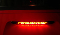 Z3 ROADSTER OR YOUR NAME 3RD/THIRD BRAKE LIGHT STICKER/OVERLAY-LOOKS AWESOME