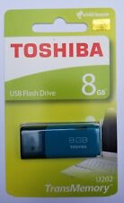 Toshiba 8GB 8 GB TransMemory U202 USB 2.0 Flash Drive Blue