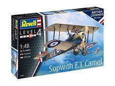 British Leyendas: Sopwith F.1 Camel, Revell Modelo de los aviones