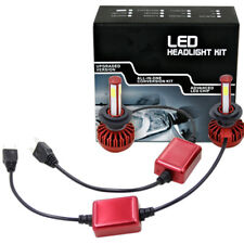Pair H7 6000K 980W 147000LM 4-Side LED High Beam Headlight Kit White Bulbs Light
