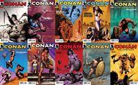 Conan the Cimmerian #12-21 (2008-2010) Dark Horse Comics - 10 Comics