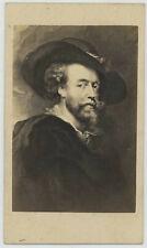 CDV. Le peintre hollandais Pierre Paul Rubens. Schauer à Berlin.