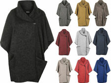 Solid Poncho Coats & Jackets for Women
