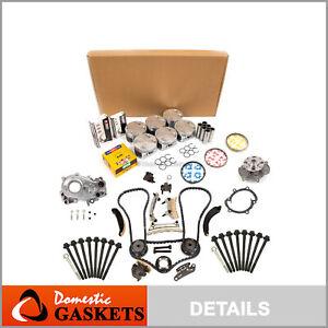 Overhaul Engine Rebuild Kit Fits 08-09 Pontiac G8 VIN 7 DOHC 3.6
