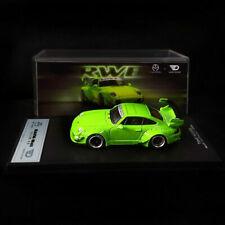 1:64 Time Model Porsche RWB 993 Rough Rhythm Glitter Summer Green Ghost Player