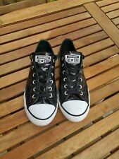 Converse All-Stars Zapato Negro Brillo