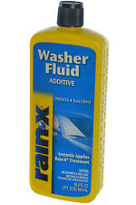 Rain‑X Windshield Washer Fluid Additive Improves Visibility, Safety & Comfort