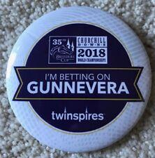 Gunnevera Collectible Breeders' Cup 2018 Button Pin