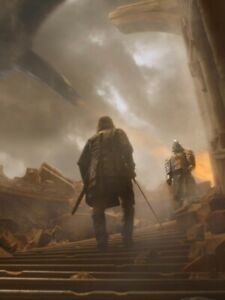 Poster Game of Thrones Cleganebowl Clegane Bowl The Hound The Mountain Mastino 3