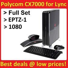 POLYCOM CX7000 LYNC ROOM SYSTEM WITH EAGLE EYE VIEW 1080 FULL SET 7200-82584-001