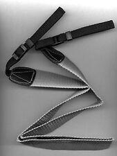 Cinghia da Tracolla in Tessuto Grigia x Reflex Nikon Canon Sony Pentax Minolta