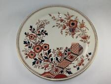 ANTIQUE CHINA Dinner Plate HAMPDEN Christopher Dresser Old Hall Pottery 1890s