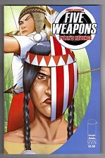 FIVE WEAPONS #7 - 1ST PRINTING - JIMMIE ROBINSON ART & COVER - IMAGE COMICS