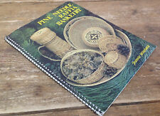 Pine Needle Raffia Basketry Jeannie McFarland Spiral Bound Book How To HTF 1978