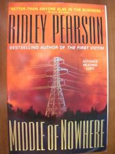 Ridley Pearson Middle of Nowhere ARC SIGNED