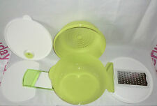 New Tupperware 4 in1 Colander Grater Cutting Board CrystaWave