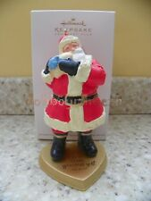Hallmark 2011 The Gift of Love Santa Claus Heart Club Excl Christmas Ornament