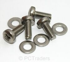 4x M4 10mm TV or Computer Monitor Stand Bracket Mounting Screws & Washers