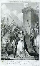 Umberto I Biancamano,conte di Savoia: capostipite della dinastia dei Savoia.1863