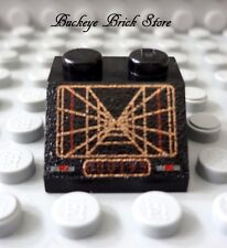 NEW Lego Black SLOPE 2x2 SW TRENCH Pattern Star Wars 7191 6212 7181 7190 4502