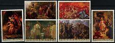 Yugoslavia 1976 SG#1750-5 Paintings, Historical Events MNH Set  #D77437
