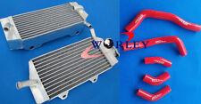 Aluminum radiator &hose for Honda CRF450R CRF450 2005 2006 2007 2008 05 06 07 08