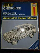 Jeep Cherokee 1984-1993 Haynes Workshop Manual