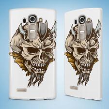 SKULL 4 HARD CASE FOR LG G2 G3 G4 G5 G6 MINI S G4c