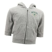 Green Bay Packers NFL Official Baby Infant Zip Up Hooded Sweatshirt New Tags