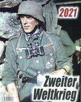 Farbbildkalender Zweiter Weltkrieg 2021