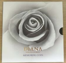 DIANA PRINCESS OF WHALES BUNC £5 MÉMORIAL COIN. ROYAL MINT ISSUE.