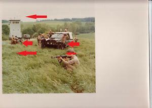 2172, Pressefoto NVA Grenztruppen in Alarm Muster Aufnahme, Traum Teil !