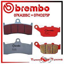 Pastiglie Freno BREMBO Anteriori SC + Post. SP BUELL S1 LIGHTNING 1200 2000 2001