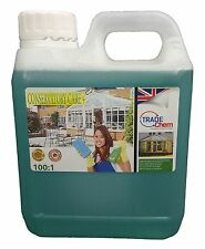 Conservatory Cleaner + PVC Cleaner and Restorer 1L JERRY CONTAINER - Trade CHEM